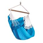 ORQU�DEA Volcano Basic Cotton Chair Hammock Color: Orquidea Ocean