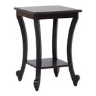 Daren End Table Color: Antique Black