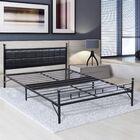 Uriel Steel Platform Bed Frame Size: Twin