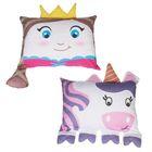 Haris Princess and Unicorn Shaped Pillow Case