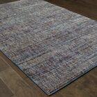 Bobby Purple/Gray Area Rug Rug Size: Rectangle 7'10