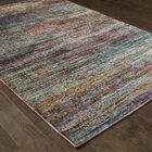 Bobby Blue/Gold Area Rug Rug Size: Rectangle 8'6