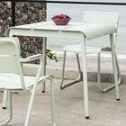 Corail 83 Aluminum Dining Table Finish: Pastel Green