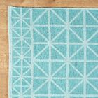 Tri Your Best Aqua Reversible Rug Rug Size: 5' x 8'