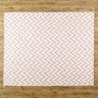 Moves Like Zigzagger Pink Area Rug Rug Size: Runner 2'6