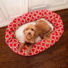 Links Sherpa Bagel Bolster Pet Bed Size: Large (40