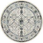 Shailene Ivory Area Rug Rug Size: Round 12'2