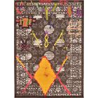 Phillips Brown Area Rug Rug Size: Rectangle 7' x 10'