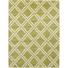 Storyvale Green Area Rug Rug Size: Rectangle 9' x 12'