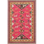Phillips Pink Area Rug Rug Size: Rectangle 10'6