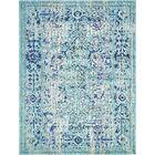 Charleena Light Blue Area Rug Rug Size: Rectangle 10' x 13'