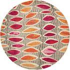 Fujii Light Brown Area Rug Rug Size: Round 8'
