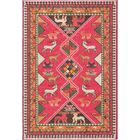 Phillips Pink Area Rug Rug Size: Rectangle 4' x 6'