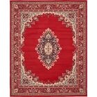 Charlie Red Area Rug Rug Size: Rectangle 8' x 10'