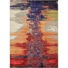 Ned Orange Abstract Area Rug Rug Size: Rectangle 7' x 10'