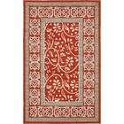 McCabe Rust Red Indoor/Outdoor Area Rug Rug Size: Rectangle 5' x 8'