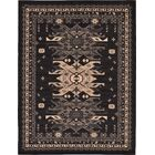 Valley Black Area Rug Rug Size: Rectangle 9' x 12'