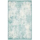 Jacobson Blue Area Rug Rug Size: Rectangle 5' x 8'