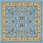 Essehoul Light Blue Oriental Area Rug Rug Size: Square 8'