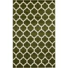 Moore Green/Beige Area Rug Rug Size: Rectangle 5' x 8'
