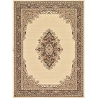 Britain Ivory Area Rug Rug Size: Rectangle 7' x 10'