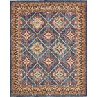 Nathanson Blue Area Rug Rug Size: Rectangle 8' x 10'