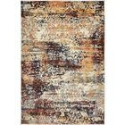 Jani Beige/Brown Abstract Area Rug Rug Size: Rectangle 4' x 6'