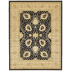 Willow Black Area Rug Rug Size: Rectangle 10'6