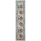 Rupe Blue Area Rug Rug Size: Runner 3' x 13'