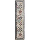 Rupe Navy Blue Area Rug Rug Size: Runner 3' x 13'
