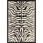 Leif Black Area Rug Rug Size: Rectangle 6' x 9'