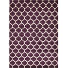 Moore Purple Area Rug Rug Size: Rectangle 10' x 14'