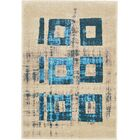 Annisville Teal Area Rug Rug Size: Rectangle 8' x 11'