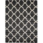 Moore Black Area Rug Rug Size: Rectangle 9' x 12'