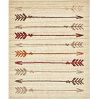 Picabo Beige Area Rug Rug Size: Rectangle 8' x 10'
