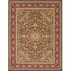 Anghal Brown Area Rug Rug Size: Rectangle 9'10