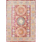 Bradford Red Area Rug Rug Size: Rectangle 6' x 9'