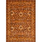 Bolton Orange/Brown Area Rug Rug Size: Rectangle 8' x 11'6