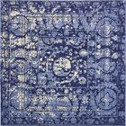 Mcdonell Blue Area Rug Rug Size: Square 8'