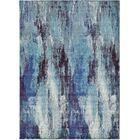 Fujii Blue Area Rug Rug Size: Rectangle 8' x 11'4