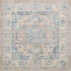 Pellham Gray Area Rug Rug Size: Square 8'