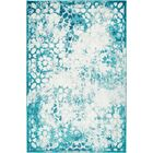 Brandt Turquoise Area Rug Rug Size: Rectangle 6' x 9'