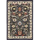 Britannia Navy Blue Area Rug Rug Size: Rectangle 6' x 9'