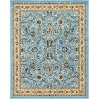 Essehoul Light Blue Oriental Area Rug Rug Size: Rectangle 8' x 10'
