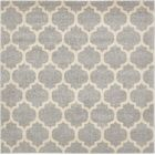 Moore Gray Area Rug Rug Size: Square 6'