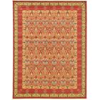 Fonciere Red Area Rug Rug Size: Rectangle 12'2