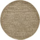 St Philips Marsh Light Brown Area Rug Rug Size: Round 6'