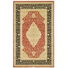 Fonciere Red Area Rug Rug Size: Rectangle 5' x 8'
