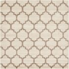 Moore Beige & Tan Area Rug Rug Size: Square 6'