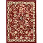 Britannia Red Area Rug Rug Size: Rectangle 7' x 10'
